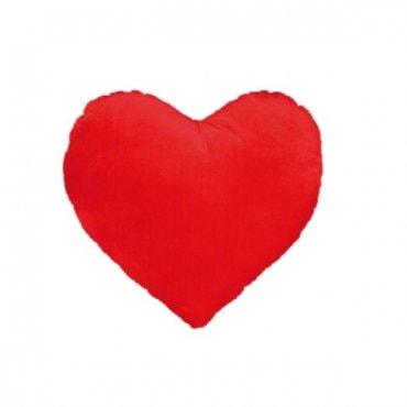 Pliušinė širdelė pagalvėlė