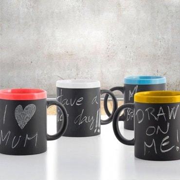 Keramikinis puodelis užrašams