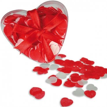Vonios konfeti Širdelės