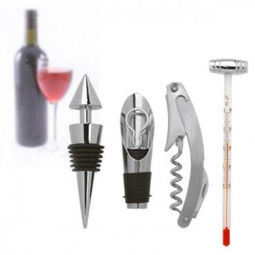 5 dalių rinkinys vyno mėgėjui
