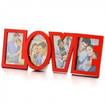 Nuotraukų rėmelis Didelė meilė LOVE