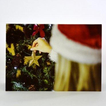 """Atvirukas """"Kalėdų eglutės puošimas"""""""