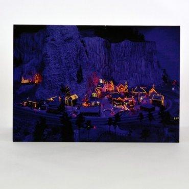 """Atvirukas """"Kalėdų miestelis"""""""