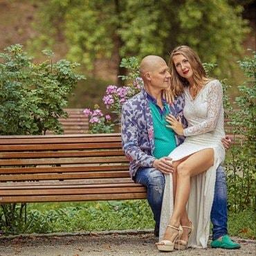 Romantiška poros fotosesija