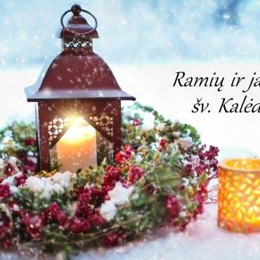 Ramių šventų Kalėdų