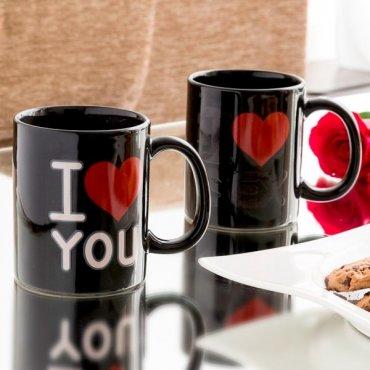 """Magiškas puodelis """"Aš tave myliu"""""""