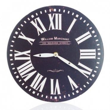 """Vintažinis sieninis laikrodis """"Romėniški skaičiai"""""""