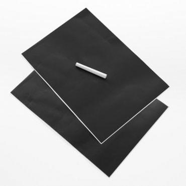 Lipnūs lapai užrašams su kreida
