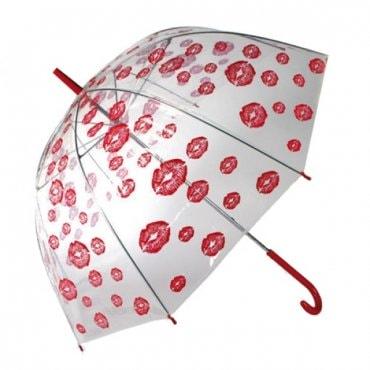 "Kupolo formos skėtis ""Bučinukai"""