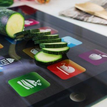 Pjaustymo lentelė iPad