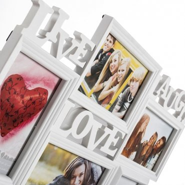"""Nuotraukų rėmeliai """"Gyvenk Juokis Mylėk"""""""