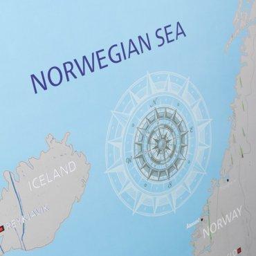 Nutrinamas Europos žemėlapis