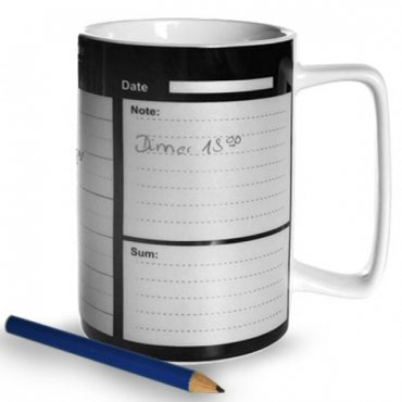 "Porcelianinis puodelis ""Darbo kalendorius"""