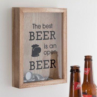 Rėmelis – dėžutė alaus kamšteliams