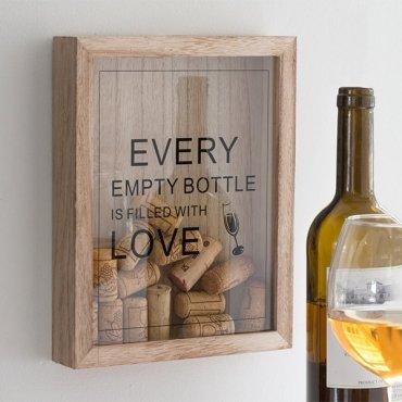 Rėmelis – dėžutė vyno kamščiams