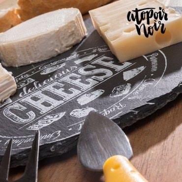 Sūrio pjaustymo lentelė iš skalūno