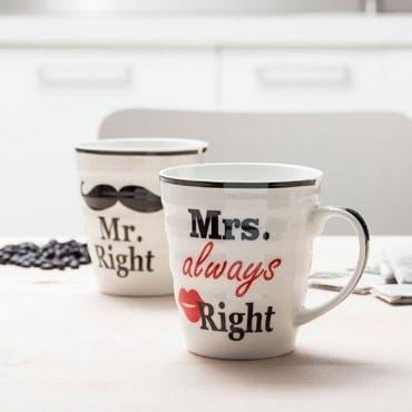 """Du puodeliai """"Ponas ir ponia teisuoliai"""""""