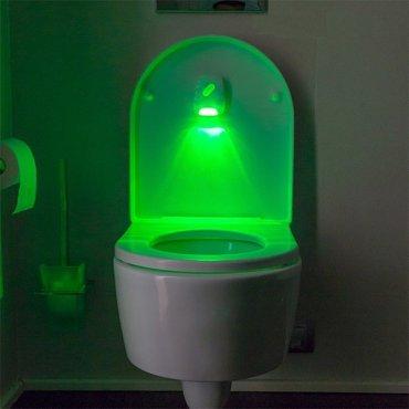 Įspėjamasis šviestuvas tualetui