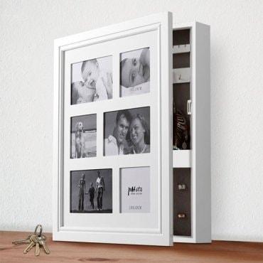 Unikali papuošalų dėžutė su nuotraukų rėmeliu