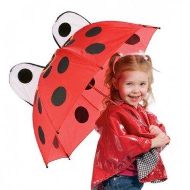 """Vaikiškas skėtis """"Boružėlė"""""""