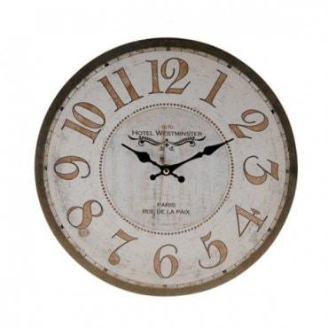 """Vintažinio stiliaus sieninis laikrodis """"Paryžius"""""""