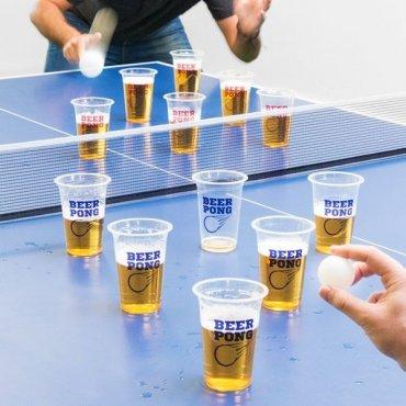 """Gėrimų žaidimas """"Beer-pong"""""""