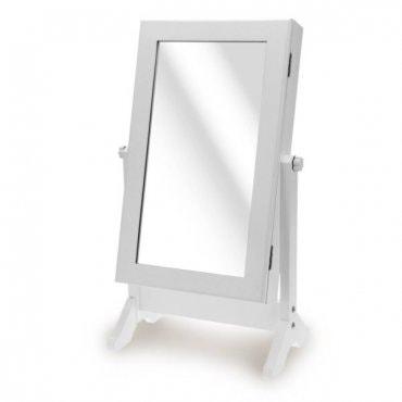 Pastatomas veidrodis – papuošalų dėžutė