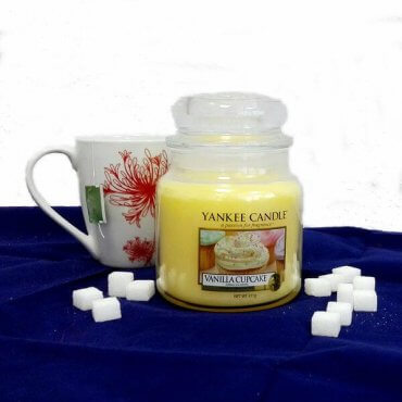 "Yankee Candle žvakė ""Vanilla Cupcake"""