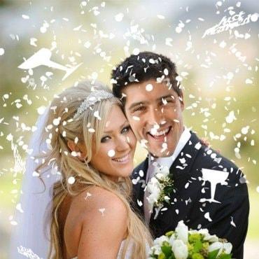 Vestuviniai konfeti