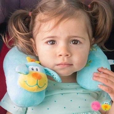 Kelioninė pagalvė kūdikiams ir vaikams