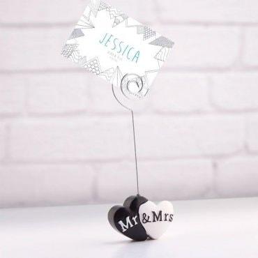 """Kortelių laikiklis """"Mr & Mrs"""""""