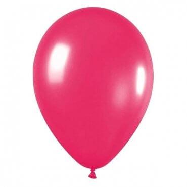 Ryškiai rožinis balionas