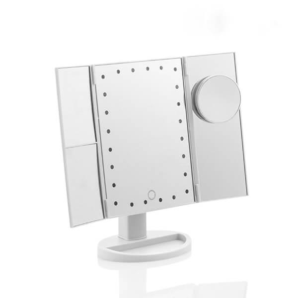 LED padidinamasis veidrodis 4in1