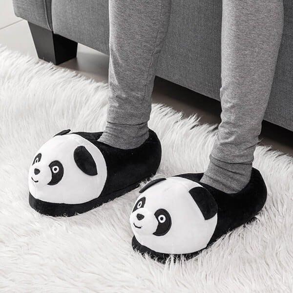 Šlepetės vaikams su Panda